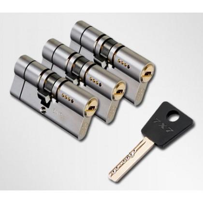 ЦИЛИНДР MUL-T-LOCK 7 Х 7 ( 33*43 ) ключ-ключ