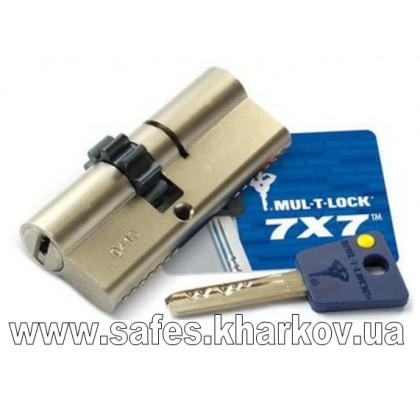 ЦИЛИНДР MUL-T-LOCK 7 Х 7 ( 40*40 ) ключ-ключ