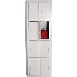 Шкаф для раздевалки (8 ячеек) LS-24 ПРАКТИК