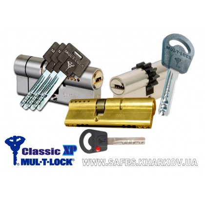 ЦИЛИНДР MUL-T-LOCK Classic X.P ( 85 мм ) ключ-ключ