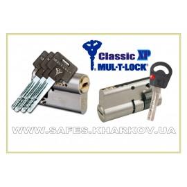 ЦИЛИНДР MUL-T-LOCK Classic X.P ( 49.5 мм ) односторонний , ключ