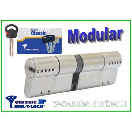ЦИЛИНДР MUL-T-LOCK Classic X.P Modular ( 145 мм ) ключ-ключ