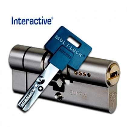 ЦИЛИНДР MUL-T-LOCK Interactive + ( 71 мм ) ключ-ключ