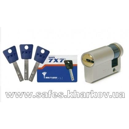 ЦИЛИНДР MUL-T-LOCK 7 Х 7 ( 9.5*60 ) односторонний, ключ