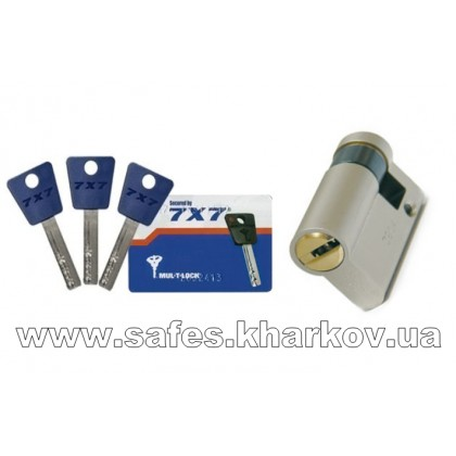 ЦИЛИНДР MUL-T-LOCK 7 Х 7 ( 9.5*65 ) односторонний, ключ