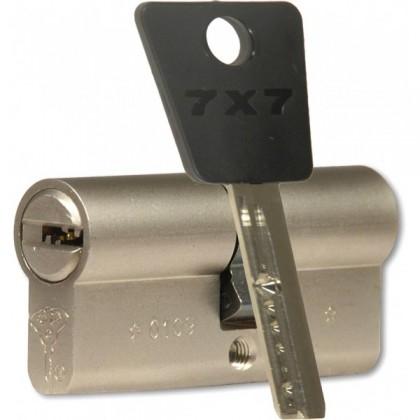 ЦИЛИНДР MUL-T-LOCK 7 Х 7 ( 33*33 ) ключ-ключ