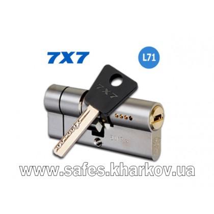 ЦИЛИНДР MUL-T-LOCK 7 Х 7 ( 33*38 ) ключ-ключ