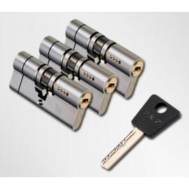 ЦИЛИНДР MUL-T-LOCK 7 Х 7 ( 38*38 ) ключ-ключ