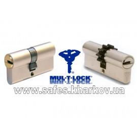 ЦИЛИНДР MUL-T-LOCK 7 Х 7 ( 27*55 ) ключ-ключ