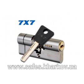 ЦИЛИНДР MUL-T-LOCK 7 Х 7 ( 50*55 ) ключ-ключ