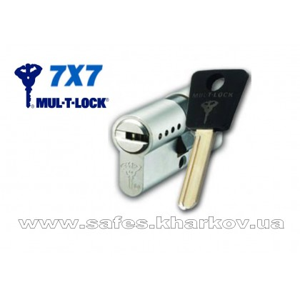 ЦИЛИНДР MUL-T-LOCK 7 Х 7 ( 45*70 ) ключ-ключ