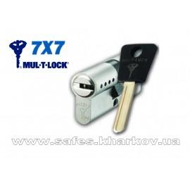 ЦИЛИНДР MUL-T-LOCK 7 Х 7 ( 50*65 ) ключ-ключ
