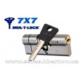 ЦИЛИНДР MUL-T-LOCK 7 Х 7 ( 55*65 ) ключ-ключ