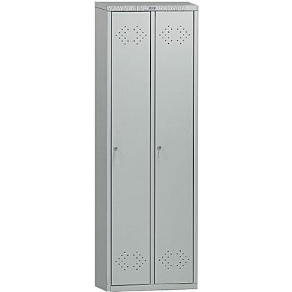 Шкаф для раздевалки двойной LS-21 ПРАКТИК