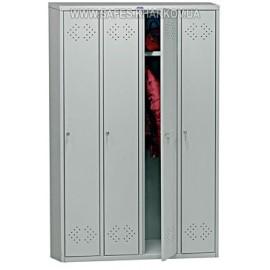 Шкаф для раздевалки (4 ячеечный) LS-41 ПРАКТИК