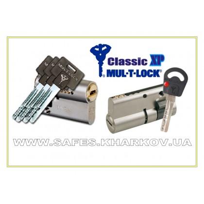 ЦИЛИНДР MUL-T-LOCK Classic X.P ( 40.5 мм ) односторонний , ключ