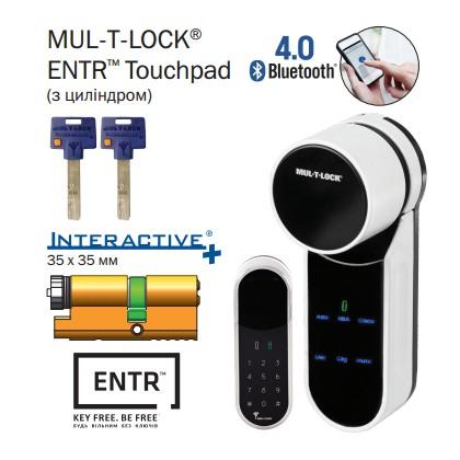 Электромеханический моторный цилиндр MUL-T-LOCK® ENTR Touchpad ( с цилиндром )