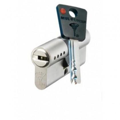 Цилиндр MUL-T-LOCK 7 Х 7 ( 31*31 )*(62 мм.) ключ-ключ